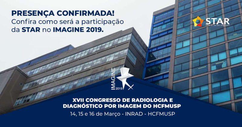 XVII Congresso de Radiologia e Diagnóstico por Imagem do HCFMUSP – IMAGINE 2019   STAR Telerradiologia 3