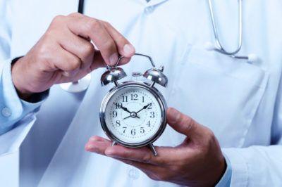 gestão de tempo na medicina